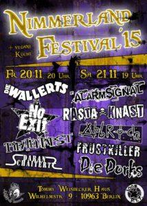 Nimmerland festival 2015