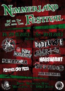 2013 Nimmerland festival